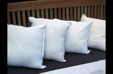 stocklot - Hand Made crochet cushion cover