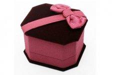 stocklot - Velvet Jewelry Box For Ring