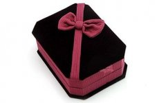 stocklot - Velvet Earring Jewelry Box