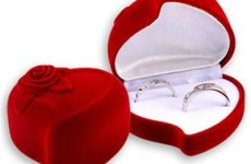 stocklot - Romance Heart-shaped Ring Box
