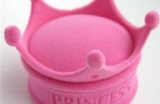 stocklot - Crown Shape Velvet Jewelry Box