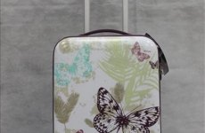 stocklot - Printed Abs Trolley Case