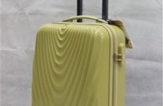 stocklot - Abs Pc Trolley Luggage