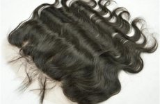 stocklot - Stock 7A Grade Natural Color Malaysian Virgin Hair Body Wave Silk Base Lace Frontal Closure With Bab