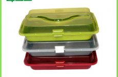 TradeGuide24.com - Non-Stick Carbon Steel Colorful Coating Cake Tin With Carrier