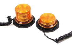 stocklot - LED Rotating Strobe Beacon Warning Light