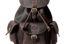 stocklot - Crazy Horse Leather-Like Vintage Women
