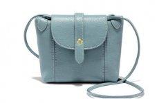 stocklot - Genuine Leather Multi-Pocket Crossbody Purse Bag