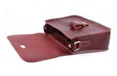 stocklot - Womens Genuine Leather Vintage Shoulder Bag