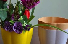 stocklot - Pumpkin Cheap Durable Indoor Plant Pots