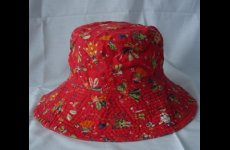 stocklot - Red Bucket Hat