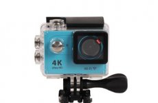 stocklot - 4K 24/30fps Sports Camera With 2.4G Remote