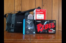 stocklot - Canon T4i EOS Rebel 18 MP Digital SLR Camera +18-55mm IS II Lens Kit NEW
