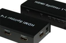 stocklot - HDMI Splitter 1x4