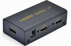 stocklot - Mini HDMI Splitter 1x2 Box