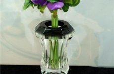 stocklot - Homochromy Coloured Glaze Flower Vase