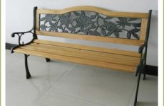 stocklot - Cast Iron Bench