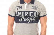 stocklot - POLOS AMERICAN PEOPLE brand