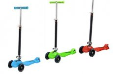 stocklot - Child Mini Scooter Folding Scooter 3 Wheels Kids Scooter