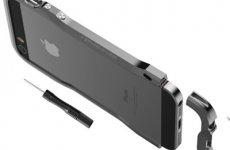 stocklot - Iphone SE Incisive Sword Aluminum Screw Phone Bumper