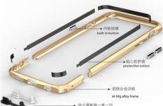 stocklot - Iphone 6 S Plus Arc Aluminum Screw Phone Bumper