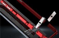 stocklot - Iphone 6 S Plus Halberd Rotary Snap With Screw Aluminum Phone Bumper