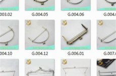 stocklot - Handbag Frames Curved Size Wide From 2.5CM To 40CM With Height From 2.5CM To 12.5CM Guaranteed With