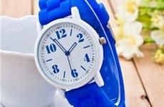 stocklot - Ladies Silicone Wrist Watch Fashion Geneva Watch