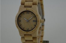 stocklot - Water Resistant Maple Watch For Lady