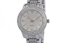 stocklot - Alloy Diamond Watches For Women Japan Movement Watch