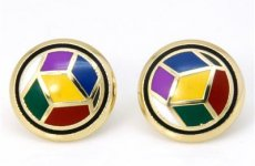 stocklot - Enamel Earrings