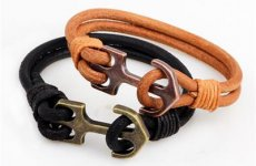 stocklot - Fashion Leather Bracelet For Men And Women