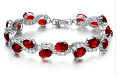 stocklot - Delicate Sparkling Cz Bracelet For Wedding