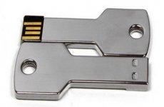 stocklot - Silver Stainless Steel Key USB Flash Drives