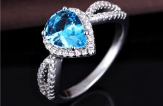 stocklot - Fashion Ring Design For Women New Style 925 Silver Wedding Ring