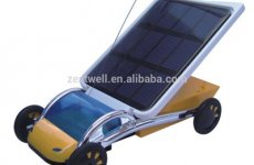 stocklot - Solar Toy Car For Assembling Toys For Children ABS