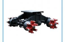 stocklot - 24Ton Spoke Axle Semi Trailer Tandem Bogie Suspension Assembly for Sale