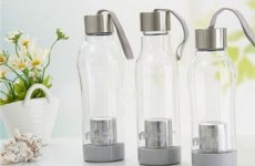 stocklot - Hot Sale On Amazon 700ml Single Wall Tea Infuser Water Bottle