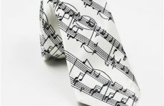 stocklot - Digital Logo Printed Cotton Linen Wool Silk Ties