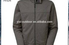 stocklot - New Style Fashion Breathable Outer Sport Men Heather Grey Softshell Jacket