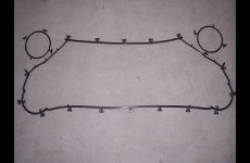 TradeGuide24.com - CR Field Gasket For Semi Welded Plate Heat Exchanger