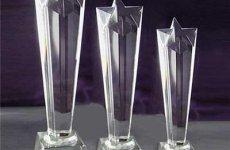 stocklot - Crystal Erupting Star Award