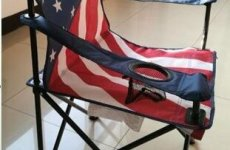 stocklot - American Flag Chair