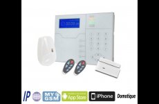 stocklot - TCP IP GSM RFID Smart Home Alarm Panel
